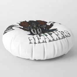 Defend Your Healers Floor Pillow