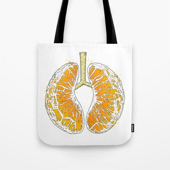 citrus lungs Tote Bag