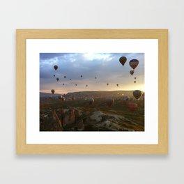 Cappadocia sunrise Framed Art Print