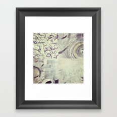 Between Time Quad Framed Art Print