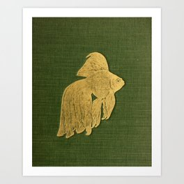 Gilded Goldfish Art Print