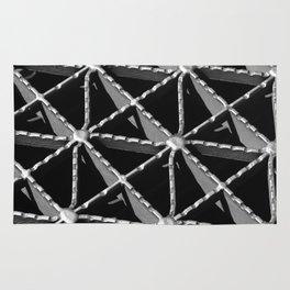 Grate Pattern Rug