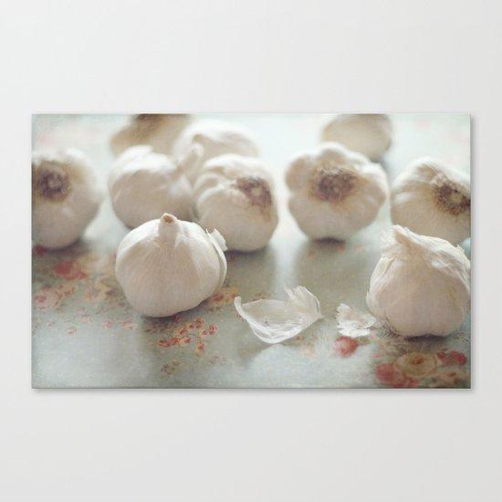 Garlic Lover Canvas Print