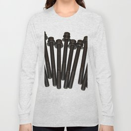 bolts on white Long Sleeve T-shirt
