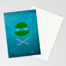 TMNT Leo poster Stationery Cards