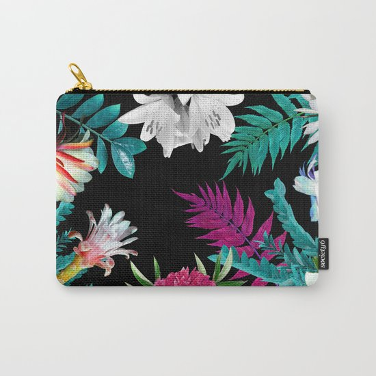 Floral Carry-All Pouch
