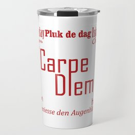 Carpe Diem Travel Mug