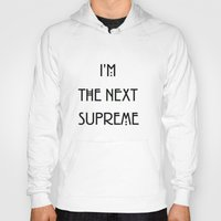 supreme Hoodies featuring Supreme by Lyre Aloise