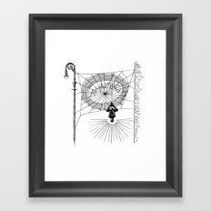 Peter's Web Framed Art Print