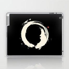 Black Enso / Japanese Zen Circle Laptop & iPad Skin