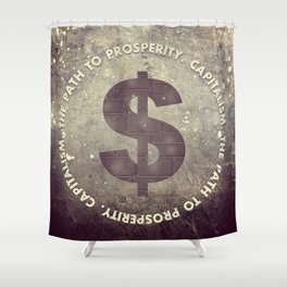 The Path To Prosperity Shower Curtain