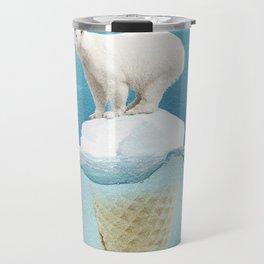 Polar ice cream cap Travel Mug