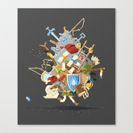 It's Dangerous to go alone, Take This. Canvas Print