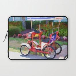 Surrey Bikes 2 Laptop Sleeve