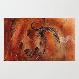 Sandstorm Dragon Rug