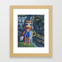 Wonder Vixen Framed Art Print