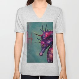 Dreaming In The Deep Unisex V-Neck