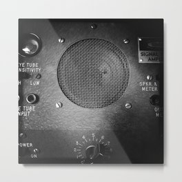 Vintage Radio Signal Tracer Metal Print