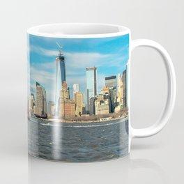 Freedom Tower 2013 w/ Boat Coffee Mug