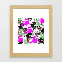 Paint Party Framed Art Print