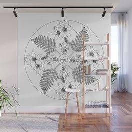 New Zealand Flora Wall Mural