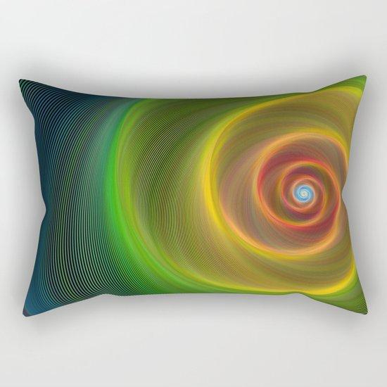 Space dream spiral Rectangular Pillow