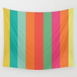 Stripes Colours Wall Tapestry