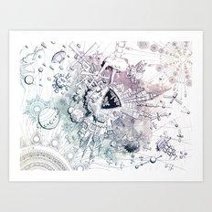 Universe in Progress Art Print