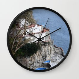 costiera amalfitana Wall Clock