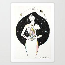 Trust your Instincts Art Print