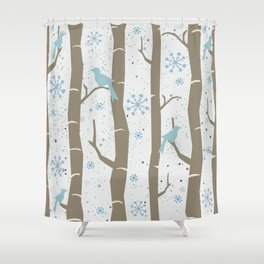 Winter Times Shower Curtain