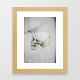 Headache Framed Art Print