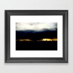 Wall Cloud Framed Art Print