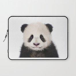 Baby Panda Bear Art Print by Zouzounio Art Laptop Sleeve