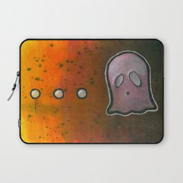 dot dot dot GHOST! Laptop Sleeve
