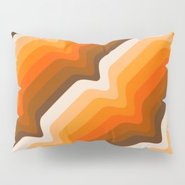 Golden Wave Pillow Sham