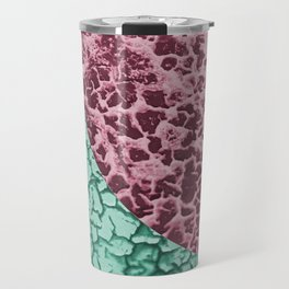 Crackle colour blocking Travel Mug