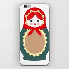 Matrioska-001 iPhone & iPod Skin