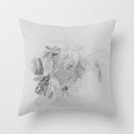 Plant Study Throw Pillow