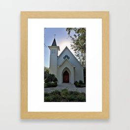 Silhouette Church 'Southern Charm' Framed Art Print