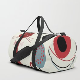Mid-Century Modern Art Cats Duffle Bag