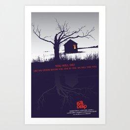The Evil Dead - Join Us Art Print