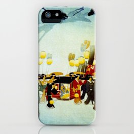 Japanese Covered Litter and Lanterns iPhone Case