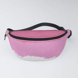 Abstract Sunset Sky Blush Fanny Pack