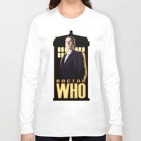 doctor Long Sleeve T-shirts featuring Doctor ? by rnlaing