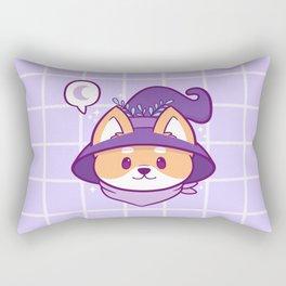 Witch Doggo Rectangular Pillow