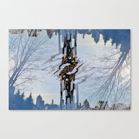 transformer Canvas Prints featuring Transformer by Citizen Erased Photography