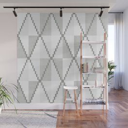 Cane in Grey Wall Mural