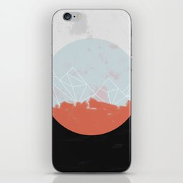Landscape Abstract iPhone Skin