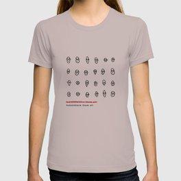 fuck them all T-shirt